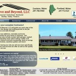 Website Design and Development for Above and Beyond Construction