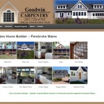 Website Design and Development for Goodwin Carpentry and Builder