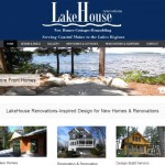 Website Design and Development for Lake house homes.
