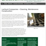 Website Design and Development for Larihunt Companies